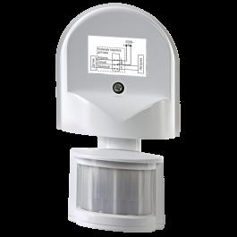 Датчик движения инфракрасный ДД-ИК501 1200Вт, 180 гр., 12м, IP44 белый
