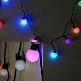 Гирлянда светодиодная шарики EVA Ball Decorative String Light (мультиколор)