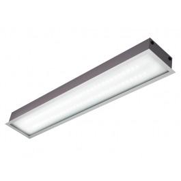 Светильник светодиодный встраиваемый ЛВО 2х9 Вт