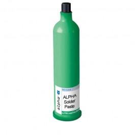 Паста паяльная ALPHA RMA390DH3, безотмывная Sn62Pb36Ag2 тип 3 (25-45мкм), картридж 700 гр