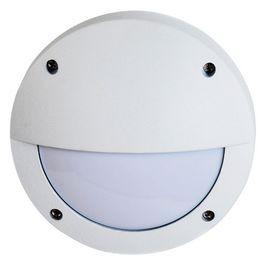 Светильник накладной матовый круг алюмин. с ресничкой 1хGX53 145x145x65  IP65