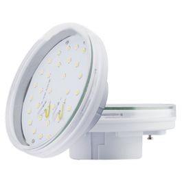 Светодиодная лампа GX53, 27x75мм, прозрачное стекло (4.2W, 6W)