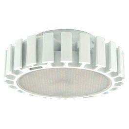 Светодиодная лампа GX53, 28x75мм, с фронтальным радиатором (13W)