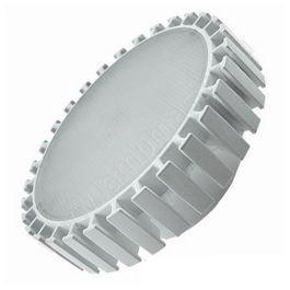 Светодиодная лампа GX70, 42x111мм, с фронтальным радиатором (23W)