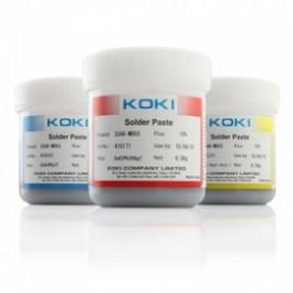 Паяльная паста KOKI SS(SE,SSA)48-M955 с эффектом самовыравнивания