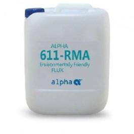 Жидкий флюс для пайки ALPHA 611 RMA FLUX 25LT, канистра 25л