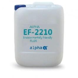 Безотмывный флюс для групповой пайки на водной основе ALPHA EF-2210 FLUX 25LT, канистра 25л