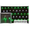Гирлянда-сетка Led net light 2*3m G/W(зеленый-белый)