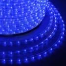 Дюралайт светодиодный 2-wires round LED Rope light - blue(синий)
