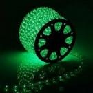 Дюралайт светодиодный с динамикой 3- wires round LED Rope light - Green(зеленый)