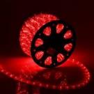 Дюралайт светодиодный с динамикой 3- wires round LED Rope light - Red(красный)
