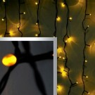 Гирлянда-дождь LED curtain lights 2×3 Yellow(жёлтый)