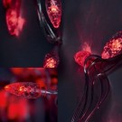 Гирлянда светодиодная ягоды LED-FL-SB-100-10M-230V RED (красный)