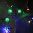 Гирлянда светодиодная LED icicle light RGBY(мультиколор)