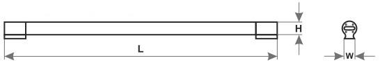 Габаритные размеры светильника ГУМБОЛЬТ LPM-LED-6018